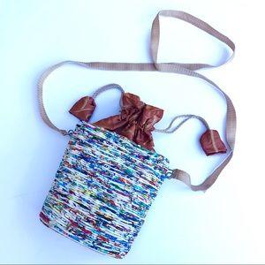 Handbags - Patricia Sanchez Recycled Upcycled Tote Crossbody